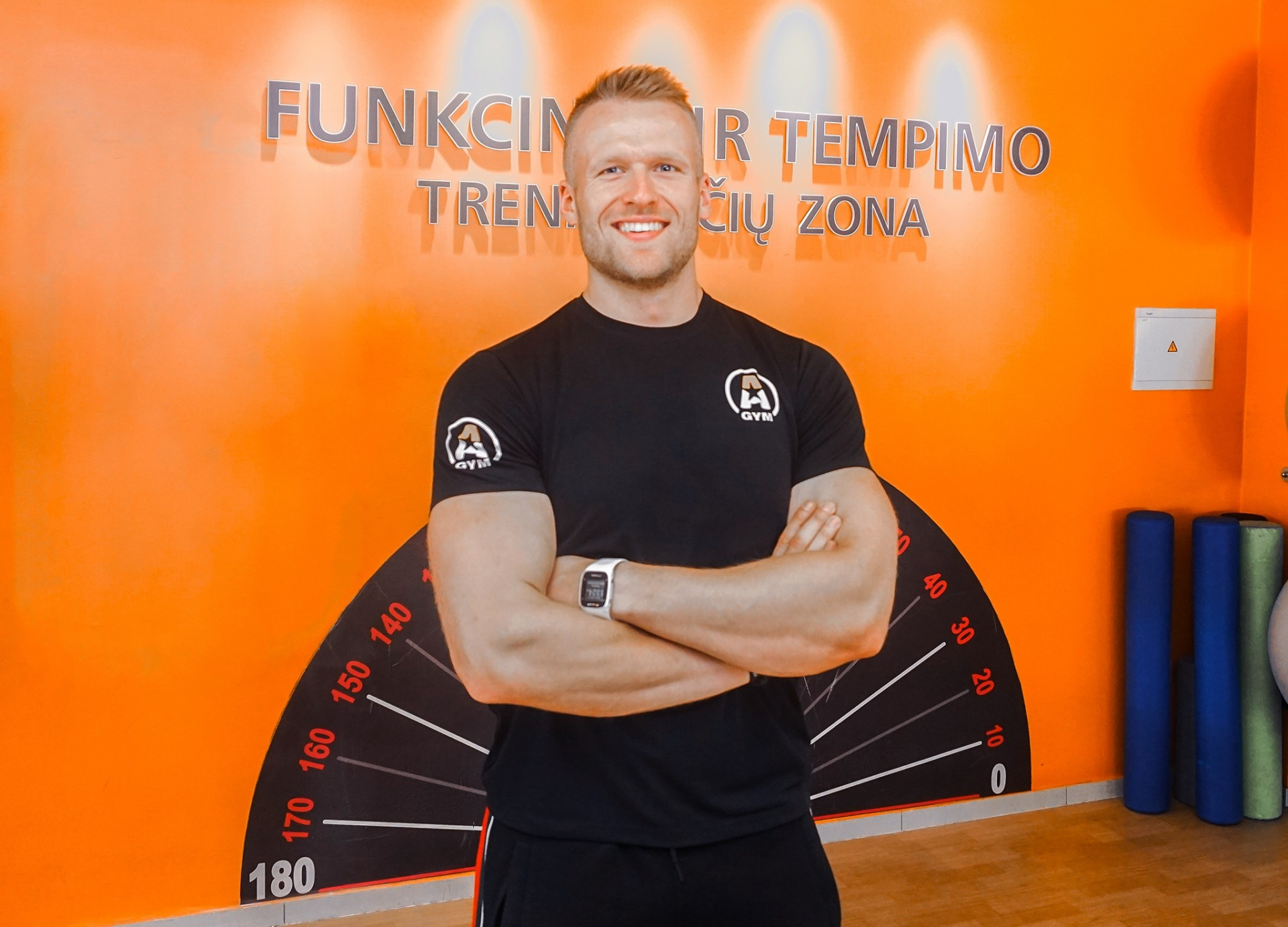 Treneris Paulius Marcinkevičius